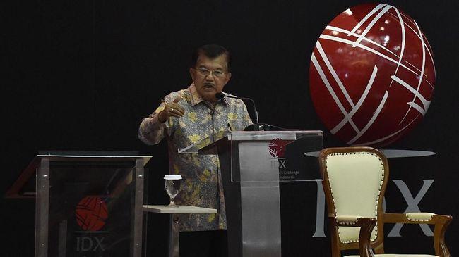 Wakil Presiden Jusuf Kalla yakin ekonomi Indonesia akan tahan menghadapi tahun politik, karena penyelenggaraan pemilu di Indonesia biasanya aman dan lancar.