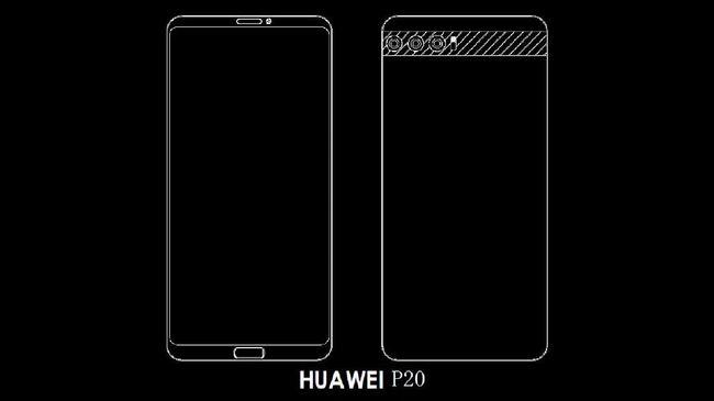 Huawei dikabarkan segera merilis model baru untuk ponsel segmen premium yakni P20. Ponsel anyar tersebut akan menjadi saingan iPhone X dan Samsung S9.