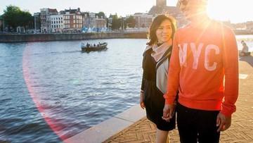 Momen 'Pacaran' Joe Taslim dan Istrinya Ini Manis Banget