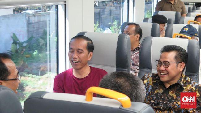 Ketua Badan Pemenangan Pemilu DPP PKB Daniel Johan mengatakan dari hasil penjaringan di akar rumput partainya ada aspirasi agar Jokowi kembali menjadi presiden.