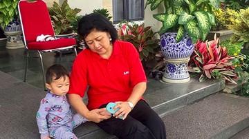 Asyiknya! Saat Ani Yudhoyono Main Bareng Cucu-cucunya