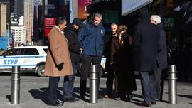 Setelah Teror Truk, New York Tambah 1.500 Tonggak Trotoar