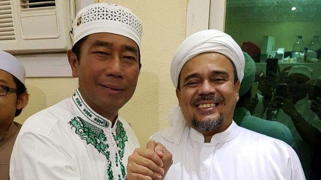 Pentolan FPI Rizieq Shihab sempat membicarakan dualisme PPP saat bertemu Abaraham Lunggana alias Lulung di Mekkah.