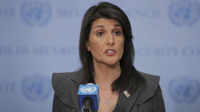 Amerika Serikat menuding Rusia menutupi pelanggaran dalam penerapan sanksi Perserikatan Bangsa-Bangsa atas Korea Utara.