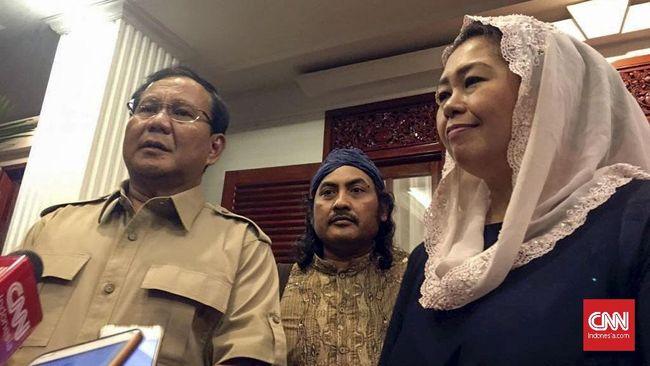 Ketua DPP Gerindra Prasetyo Hadi mengatakan 12 nama yang diajukan Yenny Wahid masuk timses Prabowo merupakan kiai dari Jawa Timur, Banten, dan daerah lain.