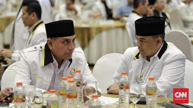Edy Rahmayadi didukung enam partai politik pemilik 60 dari 100 kursi di DPRD Sumatera Utara. Ia yakin bisa memenangi Pilgub Sumut.