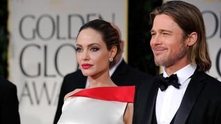Jolie-Pitt Disebut Kembali Ribut Berebut Jam Asuh Anak