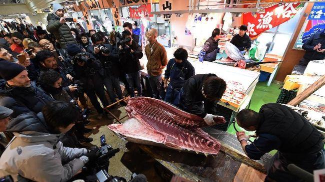 Meskipun sudah resmi dibuka, namun aktivitas di pasar Toyosu baru akan digulirkan pada tanggal 11 Oktober 2018.
