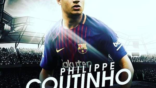 Coutinho Gabung Barcelona