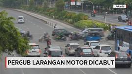 Larangan Motor Masuk MH Thamrin Dicabut