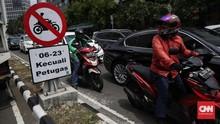 Polisi Tak Tilang Ganjil Genap Sepeda Motor Sebelum Ada Rambu