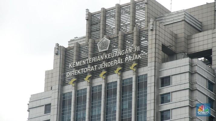 Gedung Kementrian Keuangan Ditjen Pajak