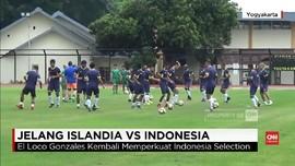 VIDEO: Latihan Jelang Indonesia Selection Vs Timnas Islandia