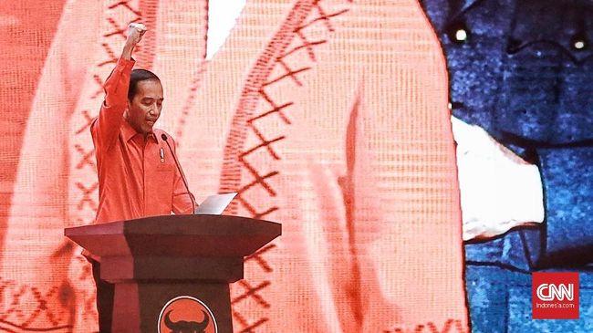 PDIP Partai Ke-8 yang Usung Jokowi di Pilpres 2019