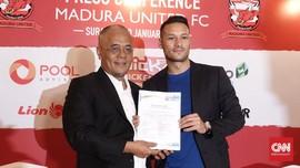 Madura United Dapatkan Maitimo Tanpa Cara Curang