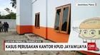 Kantor KPU Jayawijaya Diserang