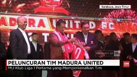 VIDEO: Madura United Rilis Skuat 2018