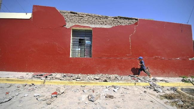 Gempa di Peru Utara ini dikabarkan terasa hingga ke Brasil. Survei Geologi Amerika Serikat mengatakan gempa tidak berpotensi tsunami.