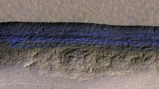 Air Garam Ditemukan di Mars, Tapi Tak Bisa Sokong Kehidupan