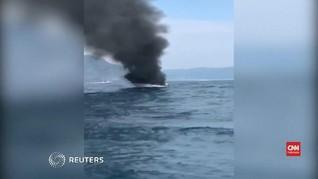 VIDEO: Kapal Wisata Meledak di Thailand Selatan