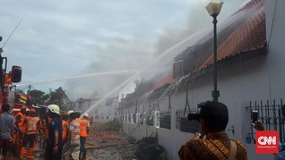 Museum Bahari Terbakar, Netizen Ungkap Duka dan Kenangan