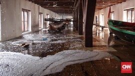 Kepala UPT Museum Bahari: Bangunan yang Terbakar di Gedung C