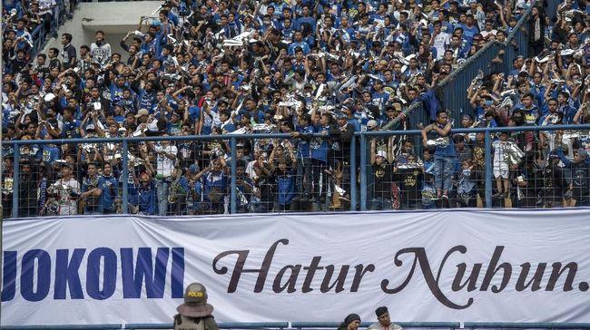 Presiden Republik Indonesia Joko Widodo menilai duel antara Persib Bandung melawan Sriwijaya FC berjalan imbang meski akhirnya kemenangan jadi milik Persib.