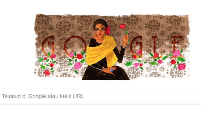 Google doodle hari ini merayakan hari lahir aktris Katy Jurado yang ke-94. Perayaan itu dengan menampilkan ilustrasi Katy di laman depan Google.