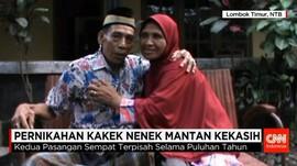 Kisah Unik Pernikahan di Usia Senja