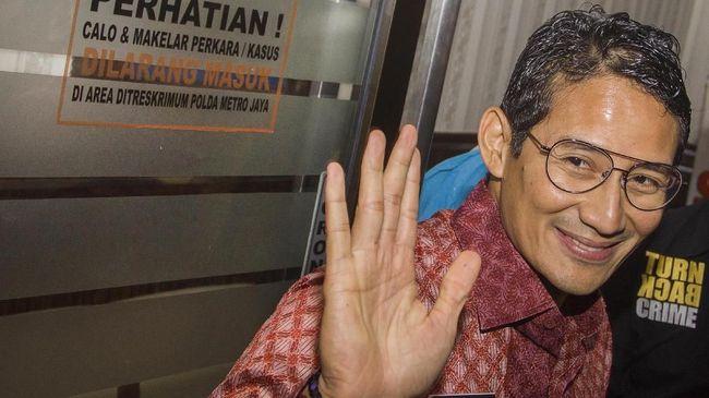 Wagub DKI Sandiaga Uno mengaku belum mengetahui perubahan nama jalan Warung Jati Barat menjadi jalan A.H Nasution di Google Map dan Waze