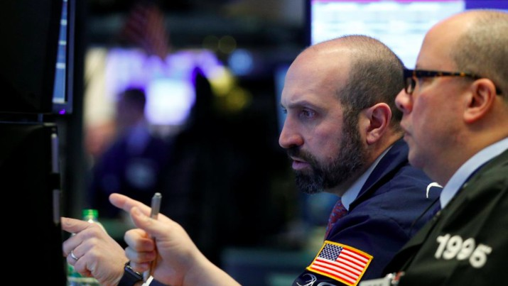 Yield Obligasi AS Merangkak Naik, Wall Street Kebakaran