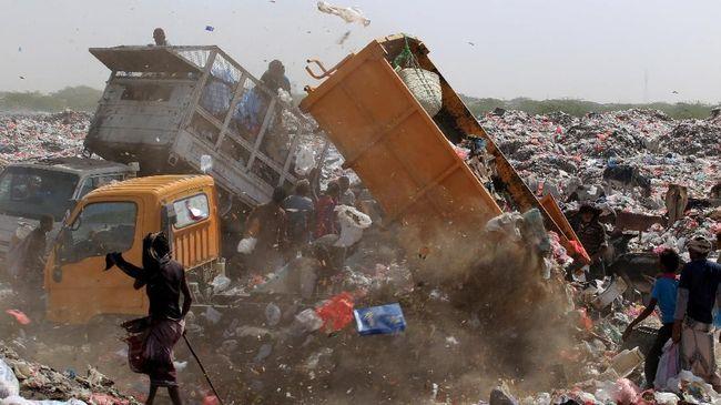 Sebaran sampah secara keseluruhan paling banyak terdapat di Provinsi Jawa Barat, sementara sampah plastik terbanyak di DKI Jakarta.