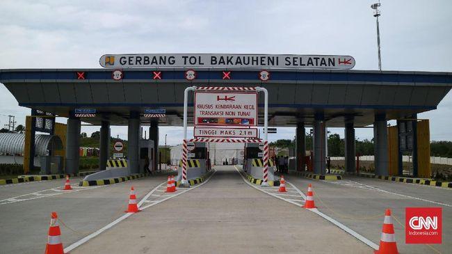 Kementerian Badan Usaha Milik Negara (BUMN) menargetkan Tol Bakauheni-Palembang sepanjang 460 kilometer (Km) beroperasi pada awal 2019.