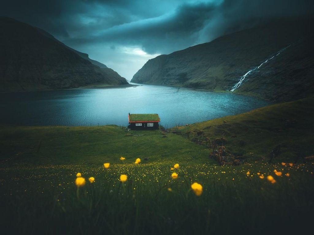 Foto Landscape Bak Negeri Dongeng yang Menyihir Mata