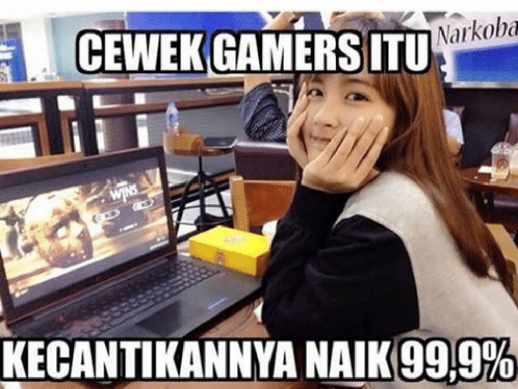Meme Kocak Kelakuan Gamer Indonesia