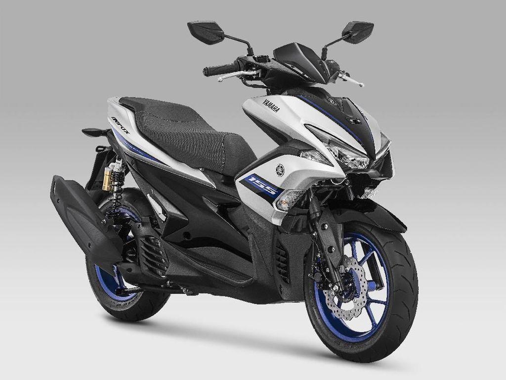 Warna Baru Yamaha Aerox R-Version