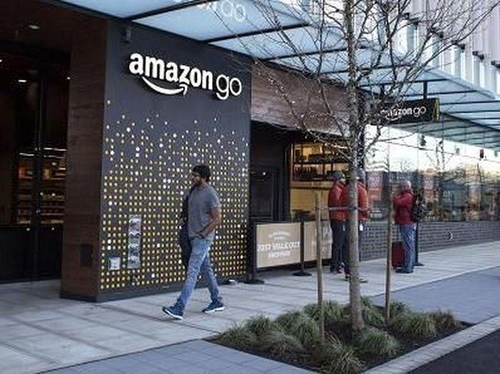 Amazon Go: Supermarket Tanpa Kasir, Bayarnya Pakai Ponsel