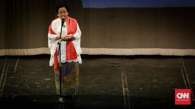 Mantan Presiden RI Megawati mengkritik bagian dari anak bangsa yang tak menghormati dan mengargai Merah Putih, bahkan ingin menggantinya juga ideologi bangsa.
