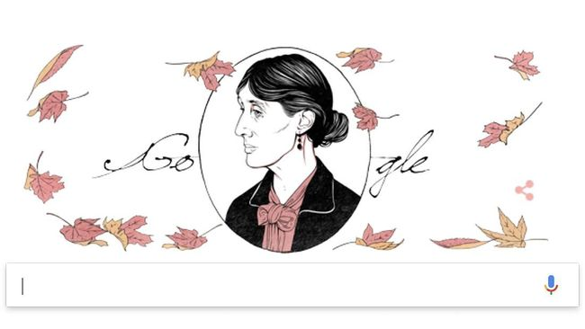 Google menampilkan sosok novelis kenamaan asal Inggris, Virginia Woolf dalam laman pencariannya hari ini.