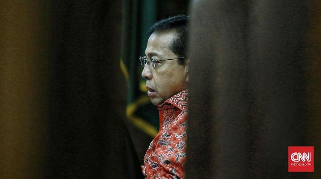Setya Novanto Jalani Sidang Lanjutan Korupsi e-KTP Hari Ini
