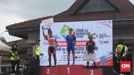 Pebalap Swiss Juara Etape I Tour de Indonesia 2018