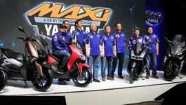 Rossi dan Vinales Luncurkan Yamaha Lexi di Jakarta