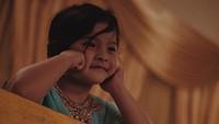 <p>Gayamenggemaskan Atreya yang sebentar lagi akan jadi kakak.(Foto: Instagram/ @audyitem)</p>