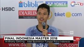 VIDEO: Anthony Ginting, Markus/Kevin Juara Indonesia Master