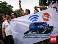 Kemhub Kini Bisa Pantau Armada Taksi Online yang Beroperasi