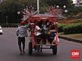 UPK Monas Tunggu Pemprov DKI Soal Izin Operasi Delman