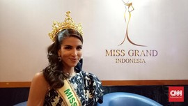 Miss Grand International 2017, Maria Jose Lora Berbagi Cerita