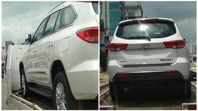 Esemka Garuda 1 mirip dengan SUV asal China yakni Foday Landfort.