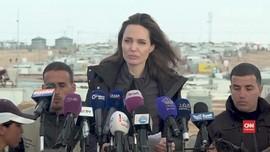 VIDEO: Angelina Jolie Minta Dunia Bantu Pengungsi Suriah
