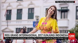 Kunjungan Miss Grand International 2017 ke Indonesia